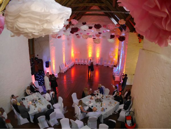 Wedding Disco uplighters